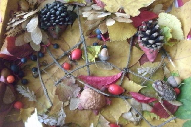 Осенние хлопоты от Маши К.