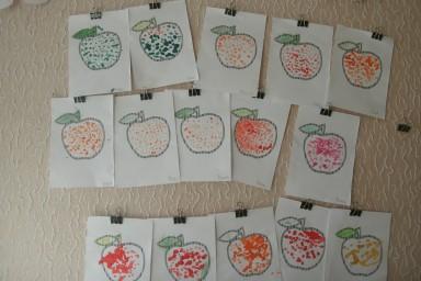 Румяные яблочки, окт 2019