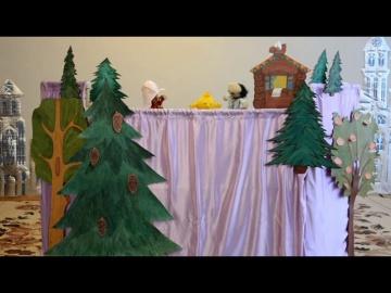Кукольный спектакль в исполнении ребят из подготовительной №3